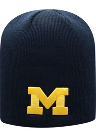 Michigan Wolverines Top of the World Classic Beanie Knit - Navy Blue