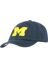 Michigan Wolverines Toddler Top of the World Crew Adjustable - Navy Blue