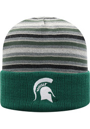 Michigan State Spartans Top of the World McGoat Cuff Knit - Green