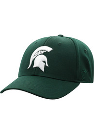Michigan State Spartans Top of the World Premium Collection One-Fit Flex Hat - Green
