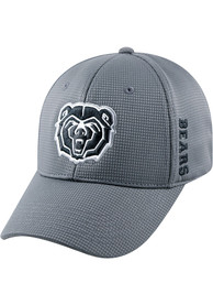 Missouri State Bears Top of the World Booster Plus One-Fit Flex Hat - Charcoal
