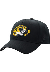 Missouri Tigers Top of the World Premium Collection One-Fit Flex Hat - Black