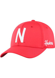 Nebraska Cornhuskers Top of the World Phenom One-Fit Flex Hat - Red