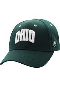 Ohio Bobcats Top of the World Triple Threat Adjustable Hat - Green