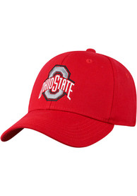 Ohio State Buckeyes Top of the World Premium Collection One-Fit Flex Hat - Red