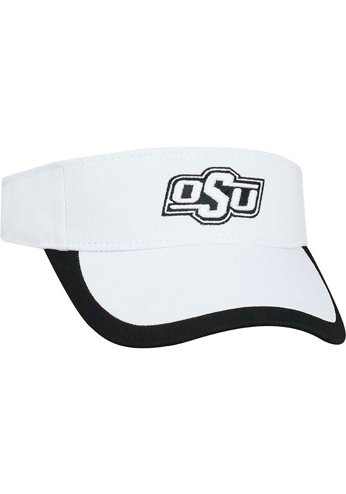 Top of the World Oklahoma State Cowboys White Game Time Womens Visor - Image 2