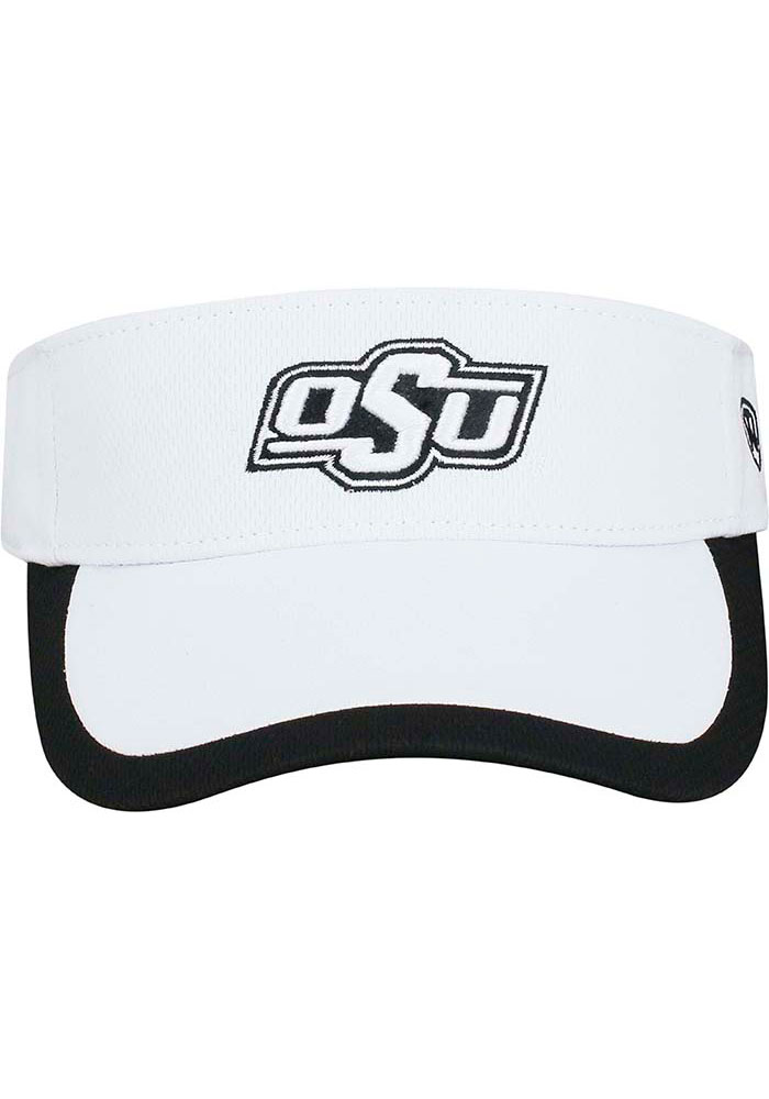 Top of the World Oklahoma State Cowboys White Game Time Womens Visor - Image 3