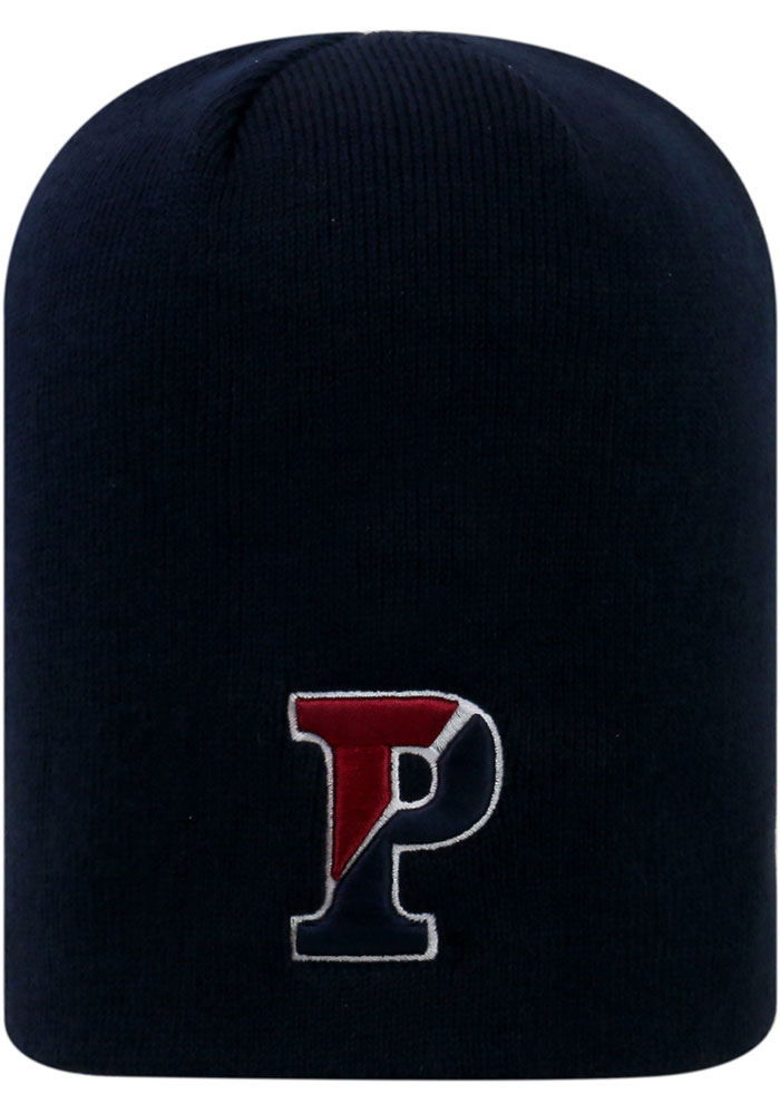 Pennsylvania Quakers Top of the World Classic Beanie Knit - Navy Blue