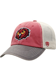 Temple Owls Top of the World Offroad Meshback Adjustable Hat - Maroon