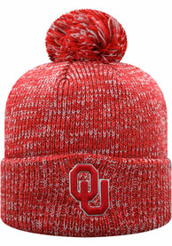 Oklahoma Sooners Top of the World Cateranns Knit - Crimson
