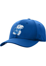 Kansas Jayhawks Top of the World Color Up Flex Hat - Blue