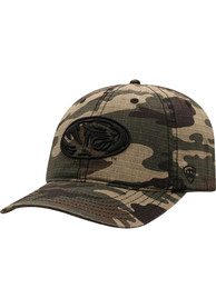 Missouri Tigers Top of the World Flagdrab Adjustable Hat - Green