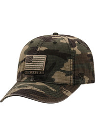Oklahoma Sooners Top of the World Flagdrab Adjustable Hat - Green