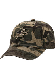 Texas A&M Aggies Top of the World Flagdrab Adjustable Hat - Green