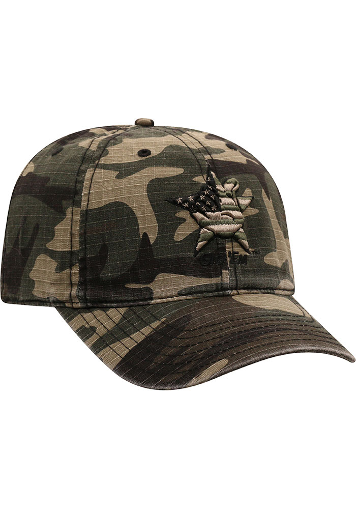 Top of the World Texas A&M Aggies Flagdrab Adjustable Hat - Green - Image 2
