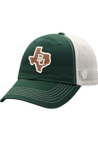 Baylor Bears Top of the World HIDIST Adjustable Hat - Green