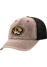 Missouri Tigers Top of the World Kimmer Adjustable Hat - Grey