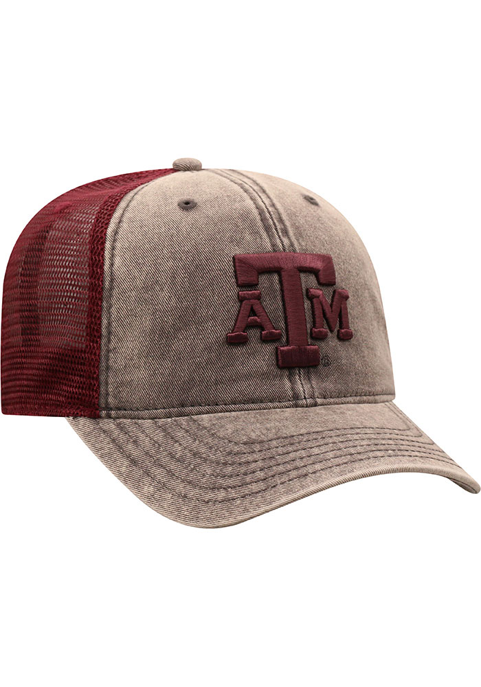 Top of the World Texas A&M Aggies Kimmer Adjustable Hat - Grey - Image 2