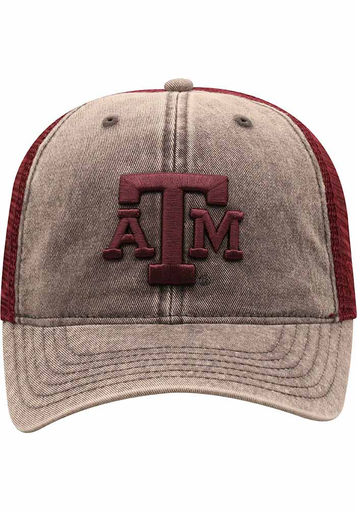 Top of the World Texas A&M Aggies Kimmer Adjustable Hat - Grey - Image 3