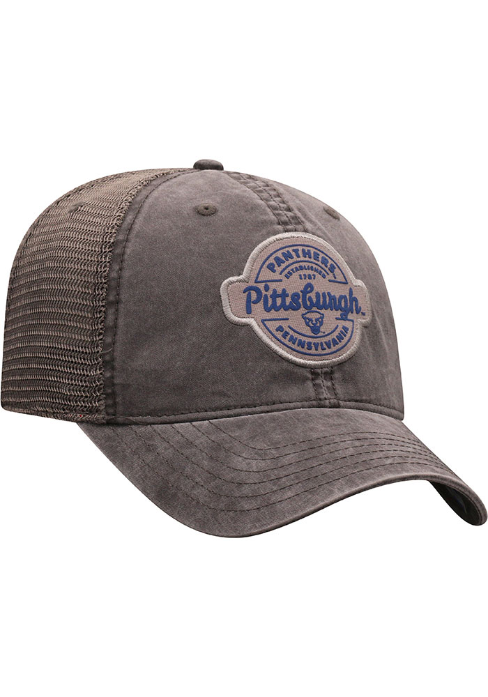 Top of the World Pitt Panthers Ominous Adjustable Hat - Grey - Image 2
