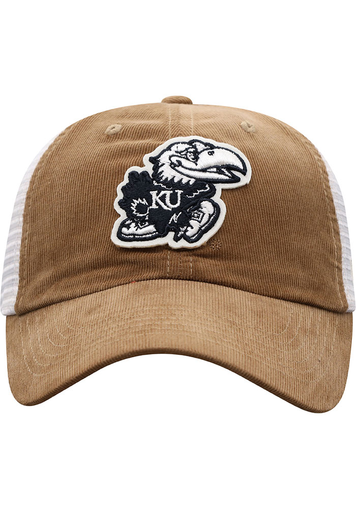 Top of the World Kansas Jayhawks Pine Cone Adjustable Hat - Brown - Image 3