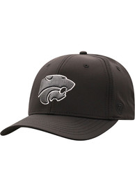 K-State Wildcats Top of the World Razor Flex Hat - Black