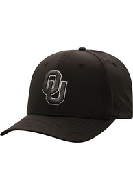 Oklahoma Sooners Top of the World Razor Flex Hat - Black