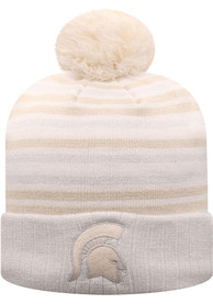 Michigan State Spartans Womens Top of the World Sophia Knit - White