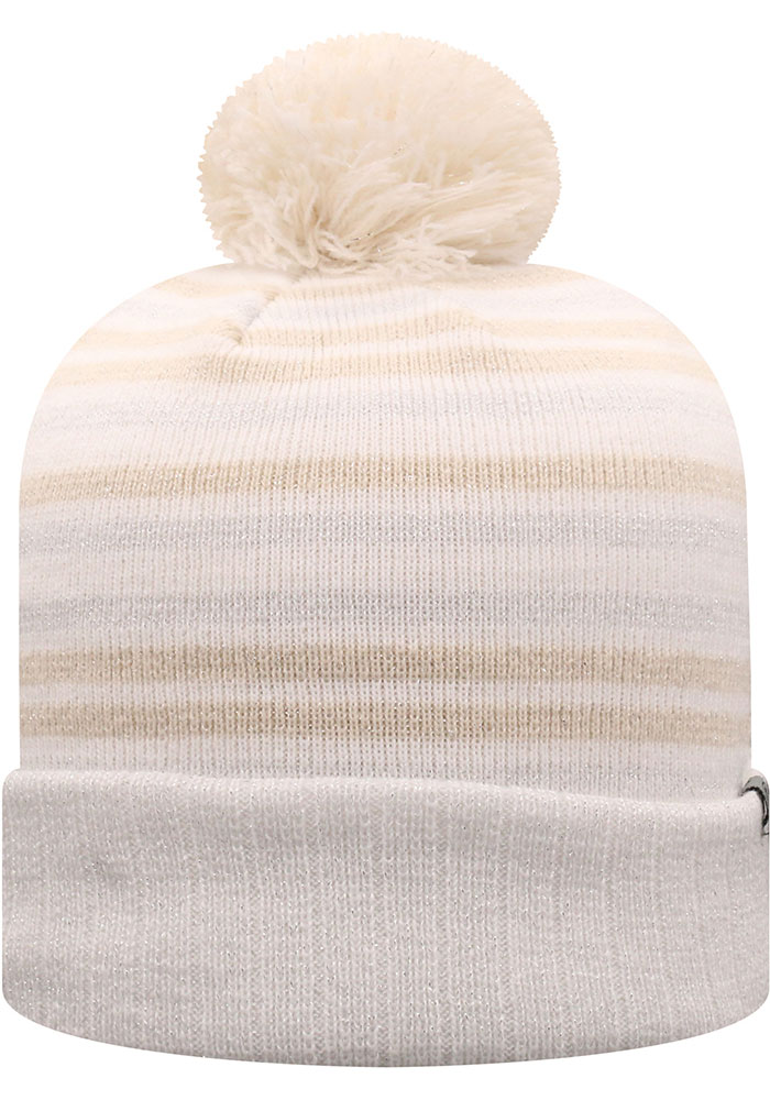Top of the World Michigan State Spartans White Sophia Womens Knit Hat - Image 2