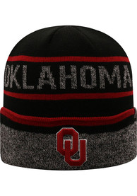 Oklahoma Sooners Top of the World Vertex Knit - Black