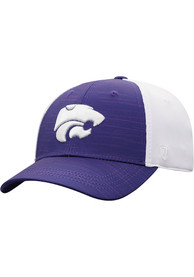 K-State Wildcats Youth Top of the World Y NOVH8 Flex Hat - Purple