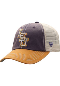 LSU Tigers Top of the World Offroad Adjustable Hat - Purple