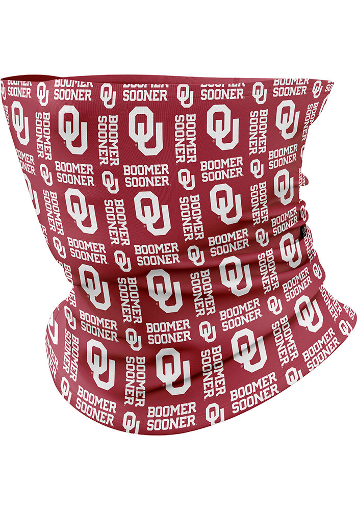 Top of the World Oklahoma Sooners Team Logo Gaiter Fan Mask - Red
