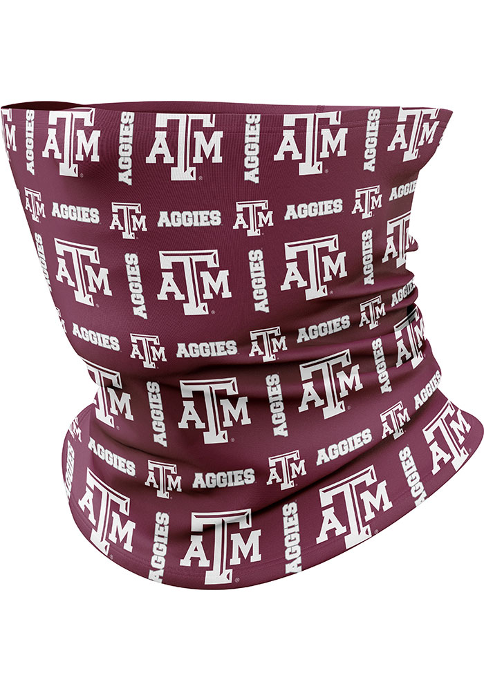 Top of the World Texas A&M Aggies Team Logo Gaiter Fan Mask - Image 1