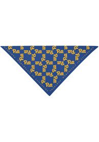 Pitt Panthers Repeat Logo Bandana - Blue
