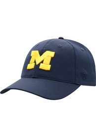 Michigan Wolverines Top of the World Trainer 2020 Adjustable Hat - Navy Blue