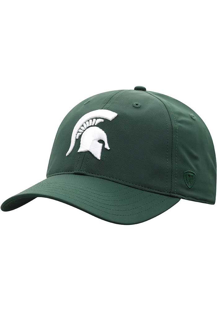 Top of the World Michigan State Spartans Trainer 2020 Adjustable Hat - Green - Image 1