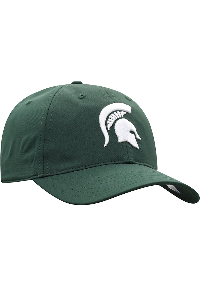 Top of the World Michigan State Spartans Trainer 2020 Adjustable Hat - Green - Image 2