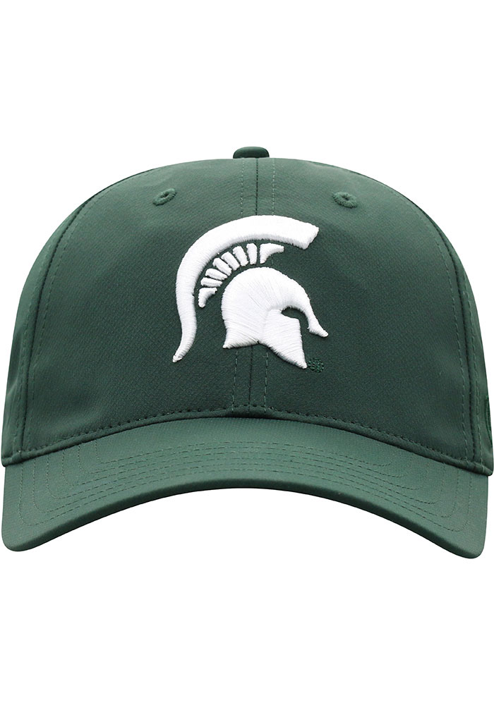 Top of the World Michigan State Spartans Trainer 2020 Adjustable Hat - Green - Image 3