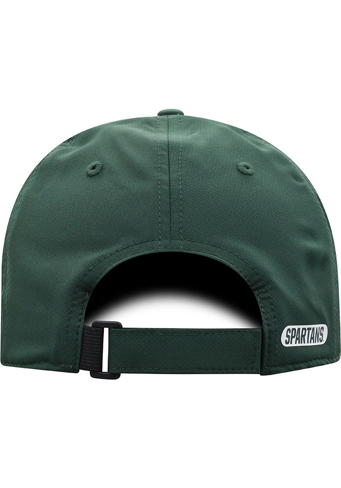 Top of the World Michigan State Spartans Trainer 2020 Adjustable Hat - Green - Image 4