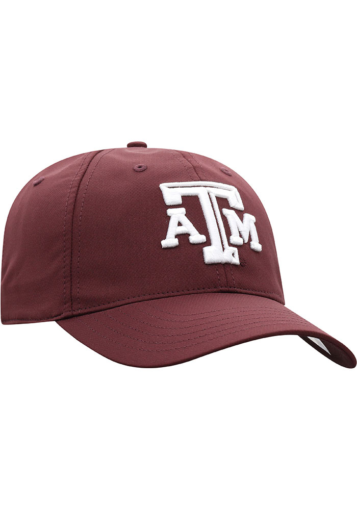 Top of the World Texas A&M Aggies Trainer 2020 Adjustable Hat - Maroon - Image 2