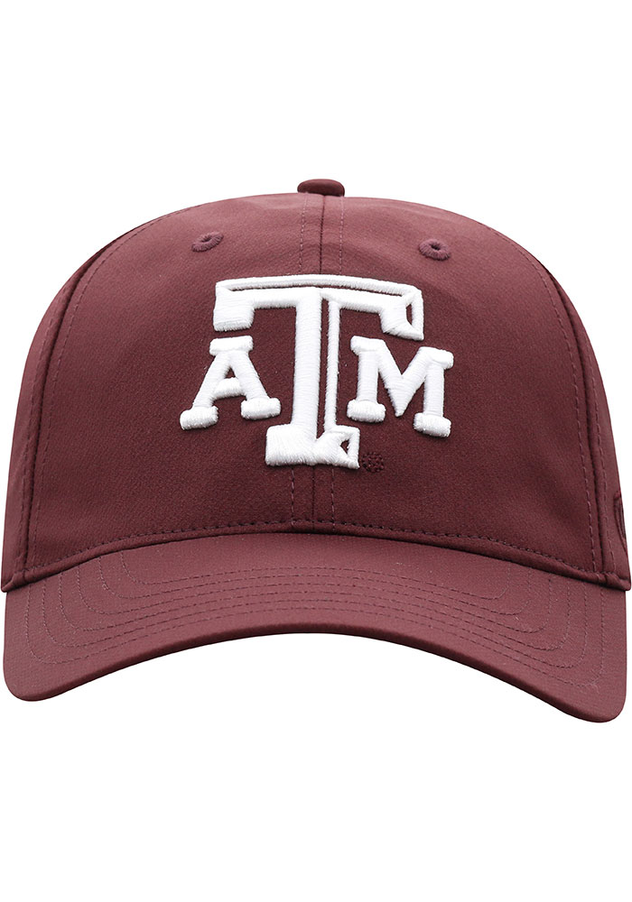 Top of the World Texas A&M Aggies Trainer 2020 Adjustable Hat - Maroon - Image 3