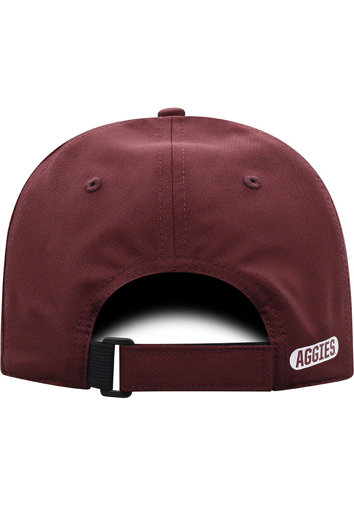 Top of the World Texas A&M Aggies Trainer 2020 Adjustable Hat - Maroon - Image 4