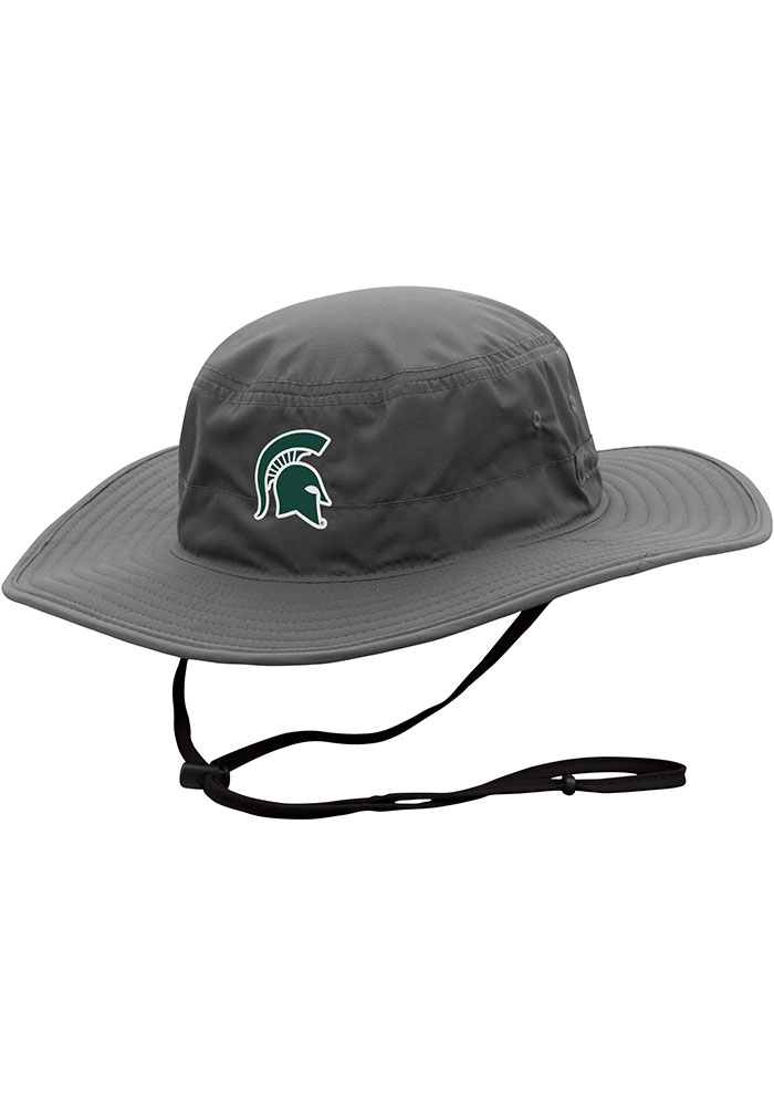 Top of the World Michigan State Spartans Charcoal Chili Dip Mens Bucket Hat - Image 1