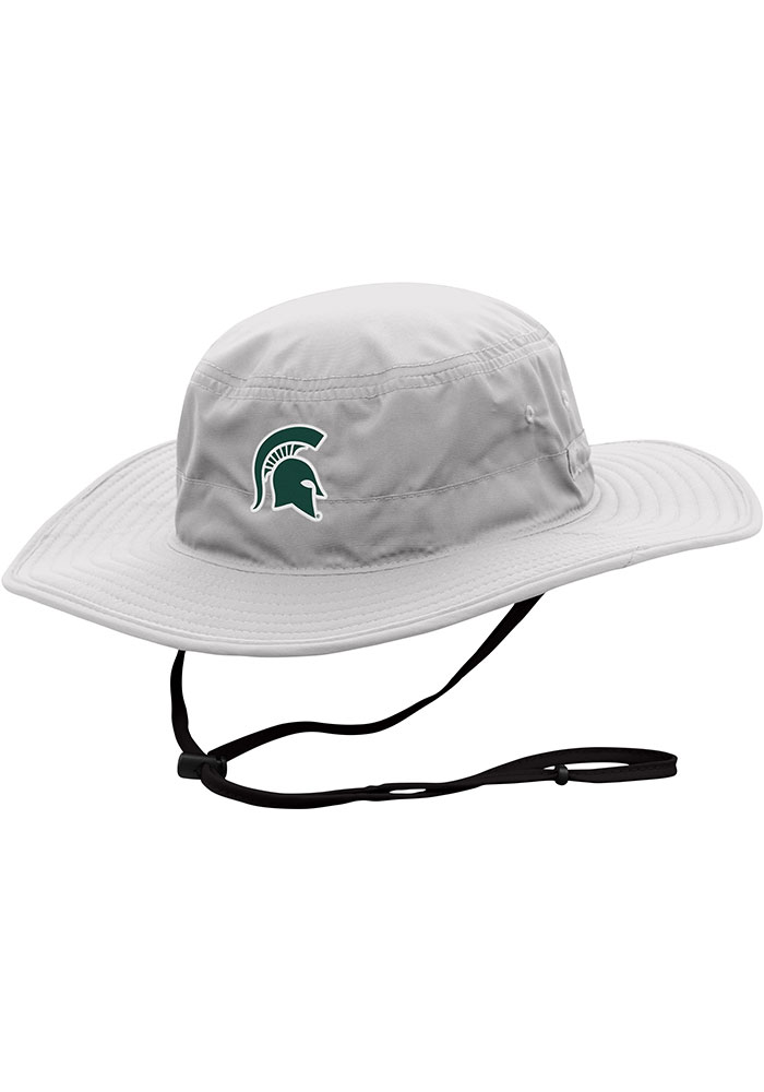 Top of the World Michigan State Spartans Grey Chili Dip Mens Bucket Hat - Image 1
