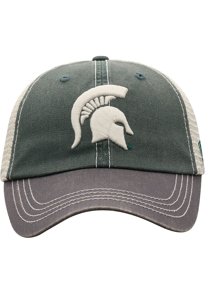 Top of the World Michigan State Spartans Green Offroad Youth Adjustable Hat - Image 2