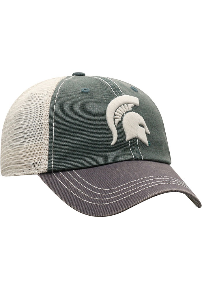 Top of the World Michigan State Spartans Green Offroad Youth Adjustable Hat - Image 3