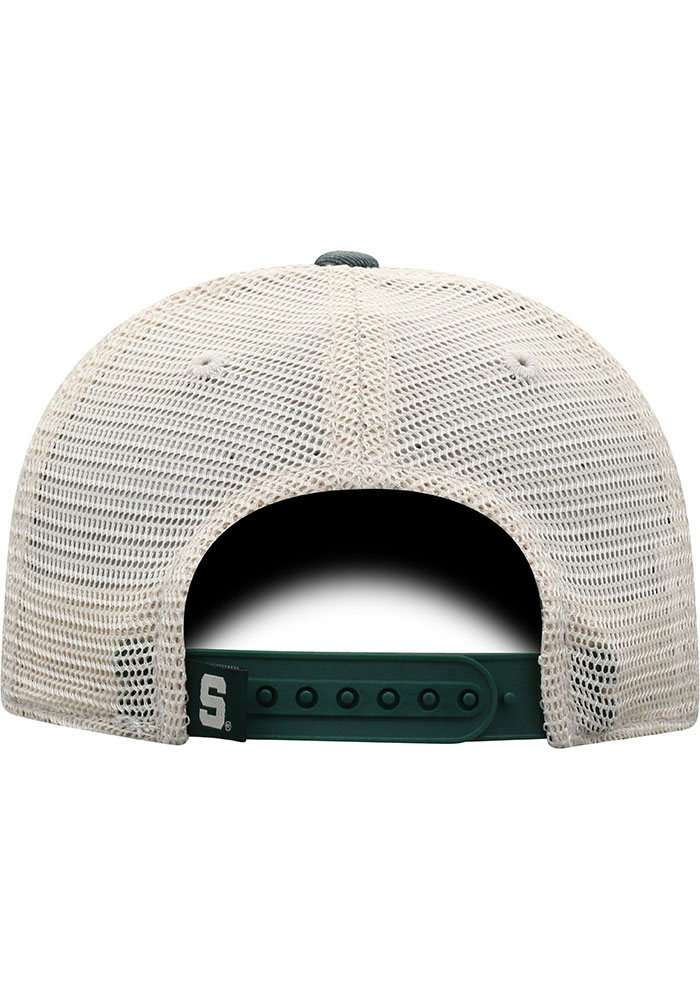 Top of the World Michigan State Spartans Green Offroad Youth Adjustable Hat - Image 4