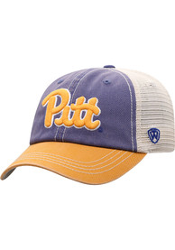 Pitt Panthers Youth Top of the World Offroad Adjustable Hat - Blue