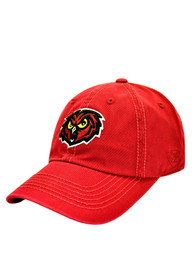 Temple Owls Top of the World Crew Adjustable Hat - Cardinal